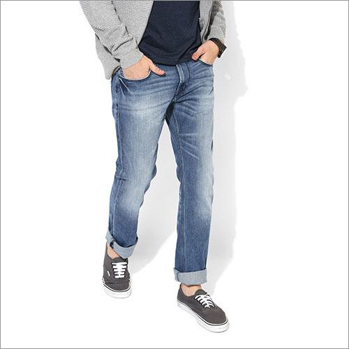 Lee Blue Low Rise Slim Fit Jeans