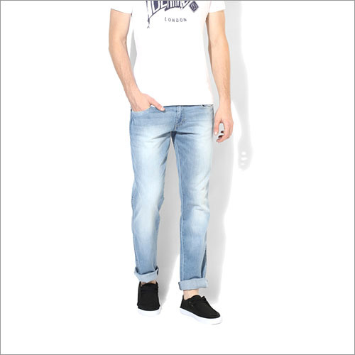 Wrangler Light Blue Low Rise Regular Jeans