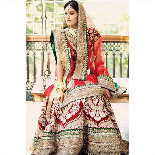 Heavy Work Bridal Lehenga