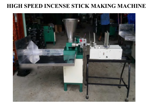 High Speed Agarbatti Making Machine