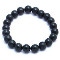 Black Onyx Gemstone Stretchable Bracelet