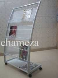 Movable Magazine Stand