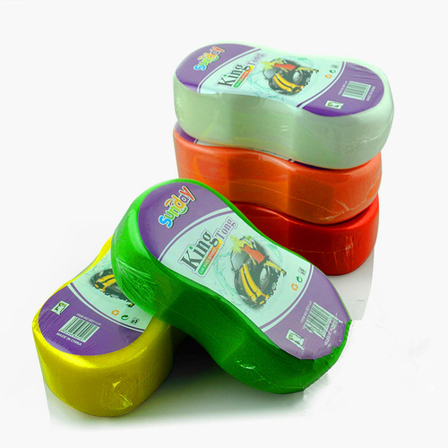 sponge scouring pads for car cleaning