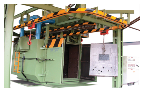 Hanger type – Shot blasting machine