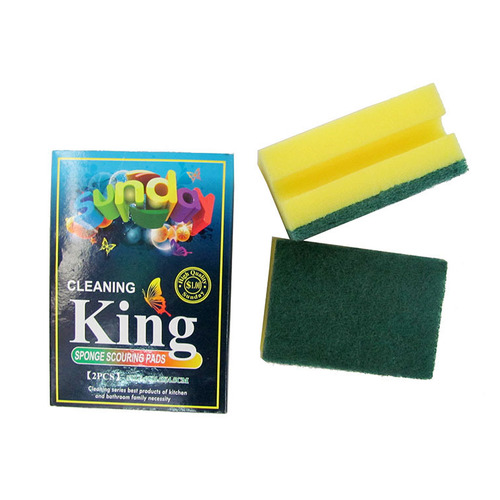I-type sponge scouring pads