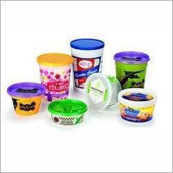 Plastic Gourmet Icecream Container