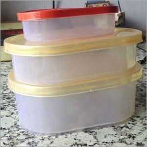 Plastic Ovel Ice Cream Container