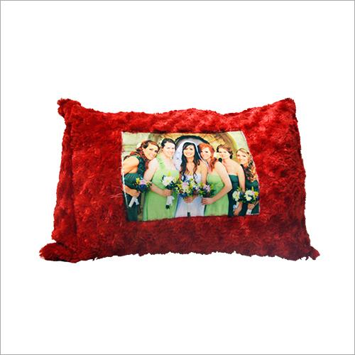 Square Fur Cushion