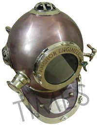 Antique Anchor Diving Helmet