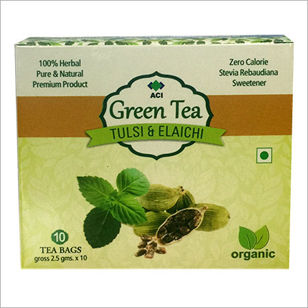 Tulsi Elaichi Green Tea