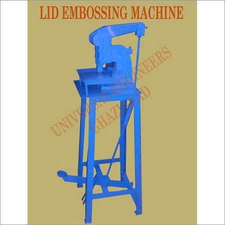 Lid Embossing Machines
