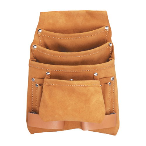 10 Pocket Leather Multi Purpose Tool Apron