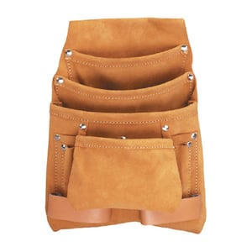 10 Pocket Leather Multi Purpose Tool Apron