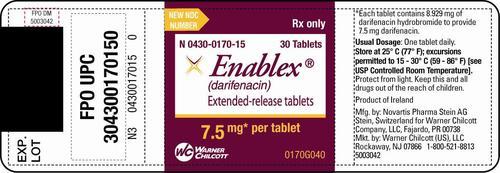 Generic Enablex