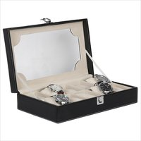 Hard Craft Black Watch box For 10 Watches