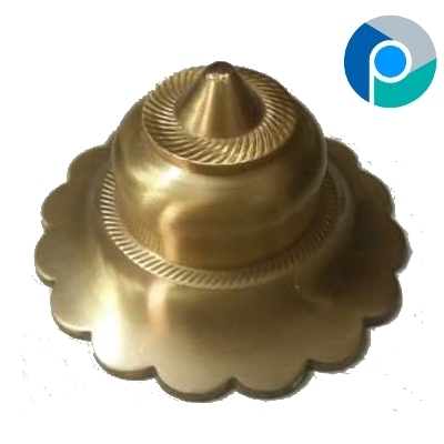 Brass Hardware Flower Dome India