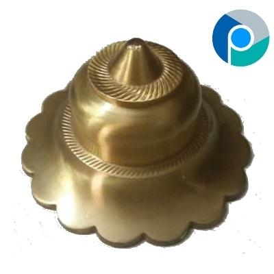 Brass Hardware Flower Dome India
