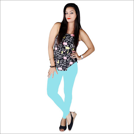 Ankle Firozi Leggings