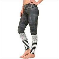 Jacquard Knit Angle Leggings