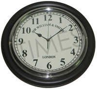 Nautical Black Wall Clock