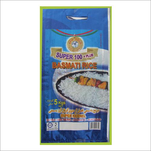 Laminated Rice Bags