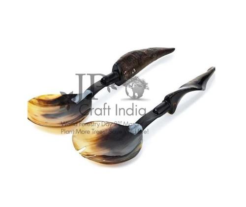 Natural Horn Spoon Set