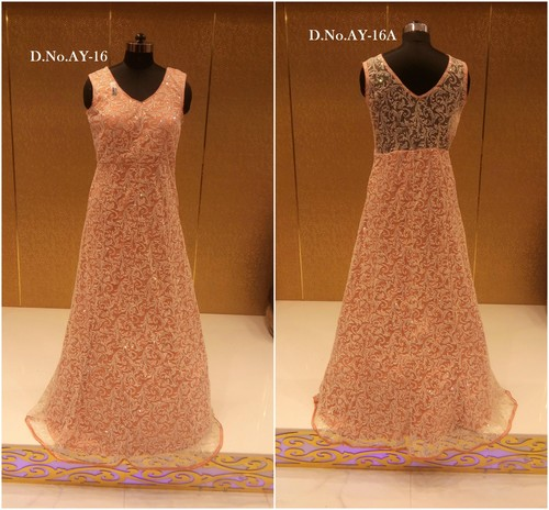 Buy Fancy Work Gown Online