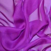 Bright Purple Chiffon Fabric