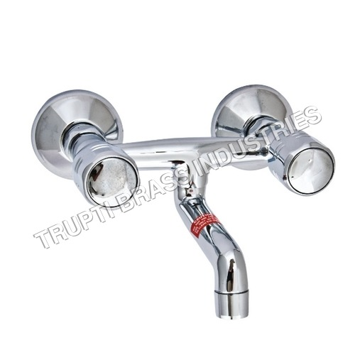 Wall Mixer With Connecting Legs & Wall Flanges