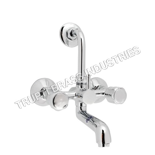 Wall Mixer For Overhead Shower With Long Bend Pipe