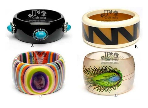 Resin Fancy Bangles