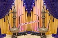 Brass Aftaba For Muslim Wedding Decoration