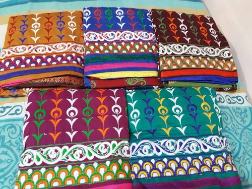 Jetpur Embroidery Dress Material