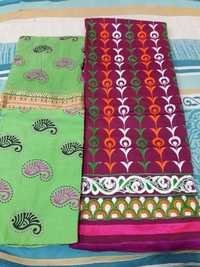 Embroidery Unstitched Dress Material