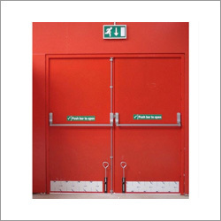 Metal Emergency Exit Door
