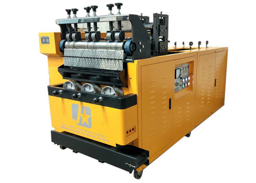 6 Wires And 3 Balls Steel Scourer Machine