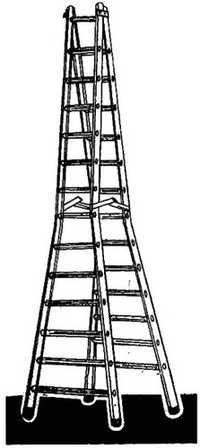 HY-STAGE DOUBLE STEP TRESTLE LADDER