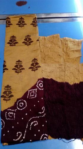 Bandhani Work Dress Materials Wholesale