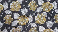 COTTON 60/60 COTTON BAGRU PRINT SOFT HAND DYED HAND BLOCK PRINT FABRIC
