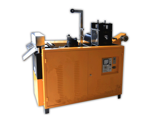 Single Needle Metal Mesh Scourer Making Machine
