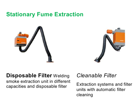 Stationary Fume Extraction