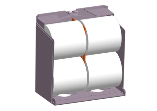 Twin Roll Tissue Dispensers