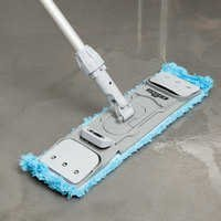 Colour Coded Microfiber Wet Mop Set