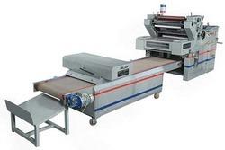 Two color poly bag printing machine