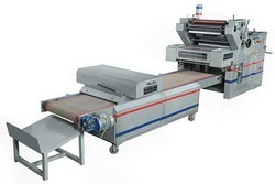 Two color polythene printing machine
