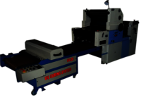 Two color Satellite poly printing machine