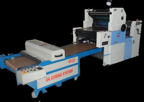 Poly carry bag printing machine