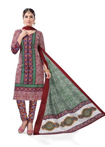Rang Cotton Dress Materials Wholesale Online