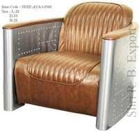 Leather Arm chairs tomcat Aviator Sofa Chair