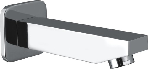 Bath Tub Spout With Wall Flange